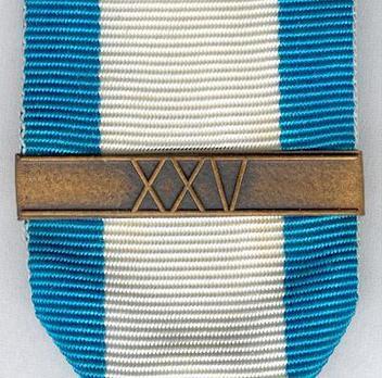 War Veterans Association Medal of Merit (with clasp) Obverse