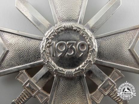 Knight's Cross of the War Merit Cross with Swords, by Deschler (1) Reverse