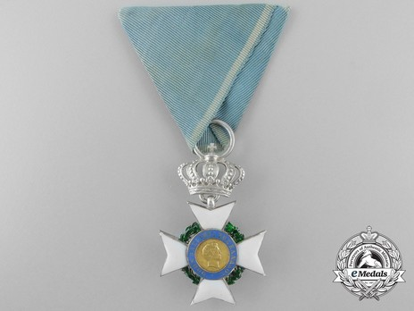 Order of the Redeemer, Type I, Knight's Cross, in Silver Obverse