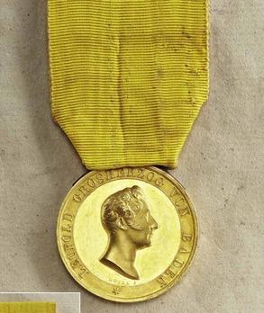 Civil Merit Medal in Gold, Small, Type IV (1832-)