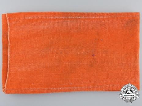 Wehrmacht Dolmetscher Armband Reverse