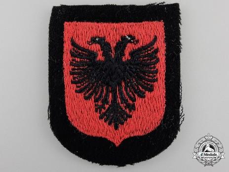 Waffen-SS Albanian Volunteer Arm Shield Obverse