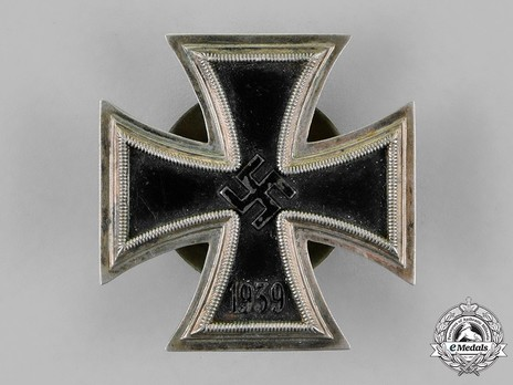 Iron Cross I Class, by R. Souval (L 58, screwback, magnetic) Obverse