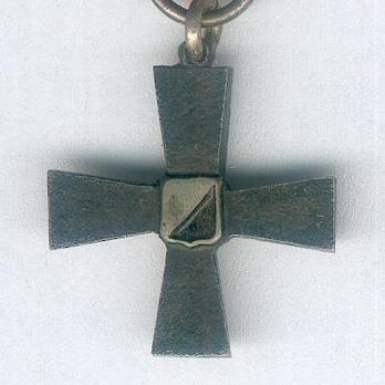 Miniature 4th Division Commemorative Cross Obverse