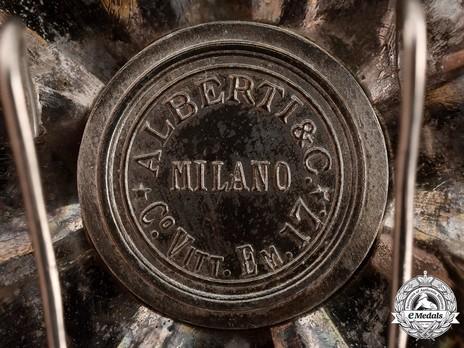 Alberti Cartouche on a San Marino Star