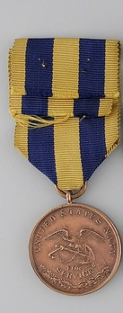 Bronze Medal (for Navy) Reverse