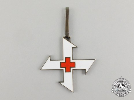 Order of the Queen Marie, I Class Cross Obverse