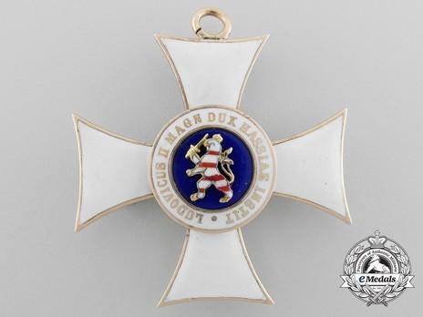 I Class Knight's Cross (in gold) Reverse