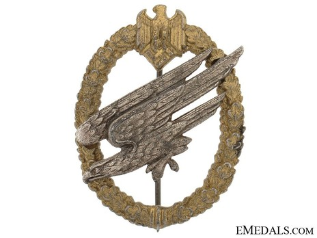 Army Paratrooper Badge, by F. Linden Obverse