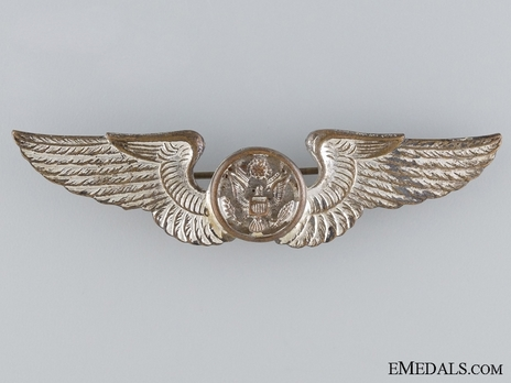 Basic Wings (with silvered bronze) Obverse