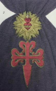 Military Order of Saint James of the Sword, Type I, Grand Cross