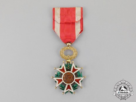 Order of the Brilliant Star of Zanzibar, Type IV, V Class Knight (with portrait) Reverse