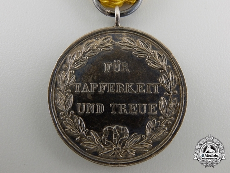 "Silver Medal (stamped ""K.SCHWENZER"") (Silver) Reverse"
