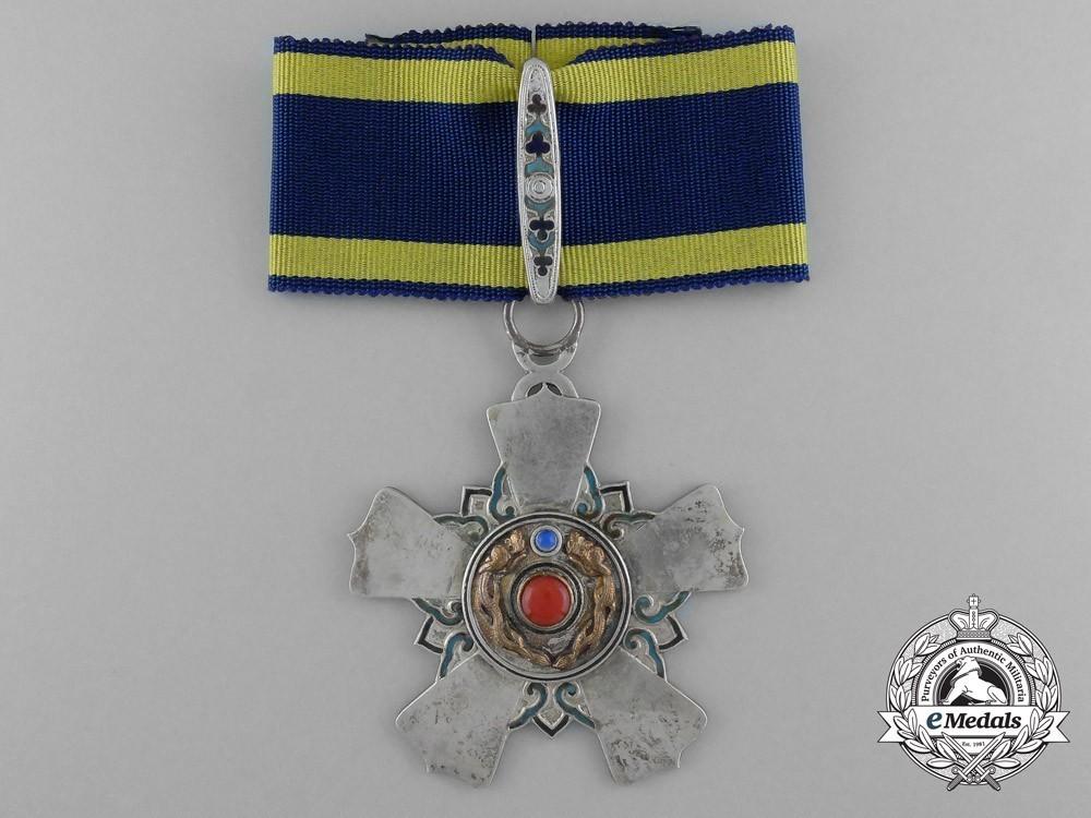 Order+of+the+double+dragon%2c+type+ii%2c+ii+class%2c+i+grade+neck+badge+1