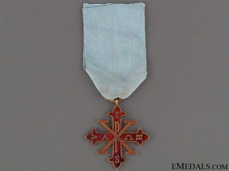 Knight of Merit (without trophy of arms) Reverse