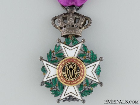 Knight (Civil Division, 1832-1951) Reverse
