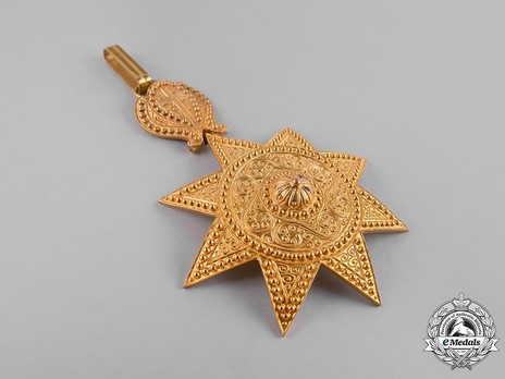 Order of the Star of Ethiopia, Grand Officer Reverse