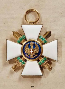 Order of the Roman Eagle, Grand Cross, in gold (with wreath and swords)