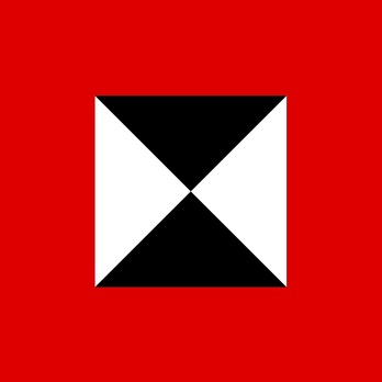 German Army Command Flag of Panzer Groups and Panzer Armies Obverse