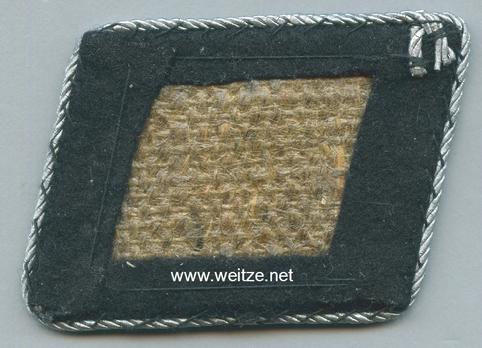Allgemeine SS 9th Sub-District Staff Unit Collar Tab Reverse