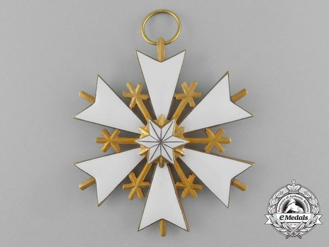 Order of the White Star, I Class Cross Obverse