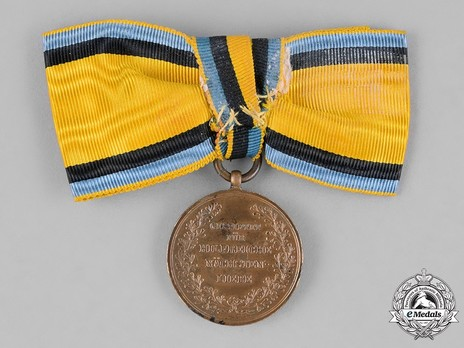Crown Princess Carola Medal, Type III, in Bronze