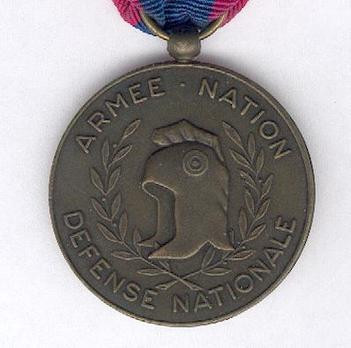 "Bronze Medal (stamped ""D'APRES RUDE"") Reverse"