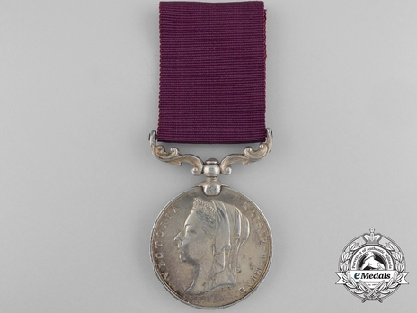 Silver Medal (with Queen Victoria effigy) Obverse