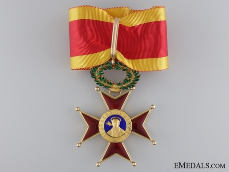 Order of St. Gregory the Great Commander (Civil Division) (with gold) Obverse