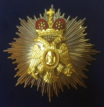Order of Makarios III, Grand Commander's Cross Breast Star