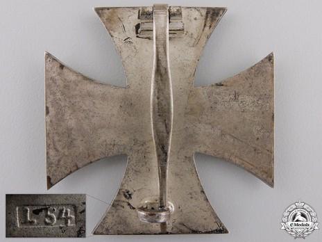 Iron Cross I Class, by Schauerte & Höhfeld (L 54) Reverse