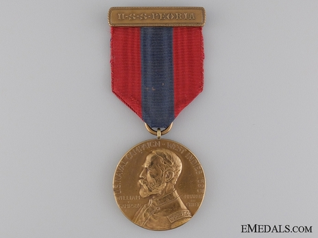 West Indies Campaign Medal (for U.S.S. Peoria) Obverse
