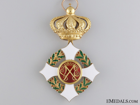 Military Order of Savoy, Type II, Commander Reverse