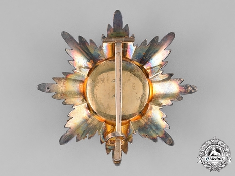 Order of Saint Stanislaus, Type II, Military Division, I & II Class Breast Star