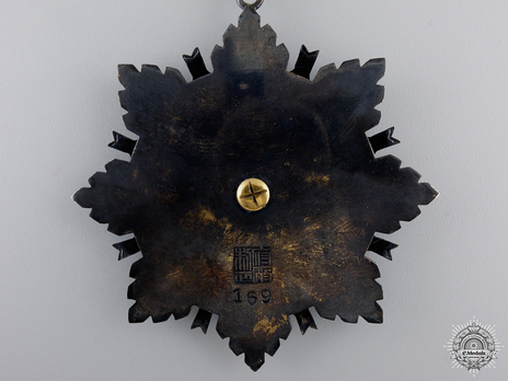 Order of the Brilliant Star, I Class Star Reverse