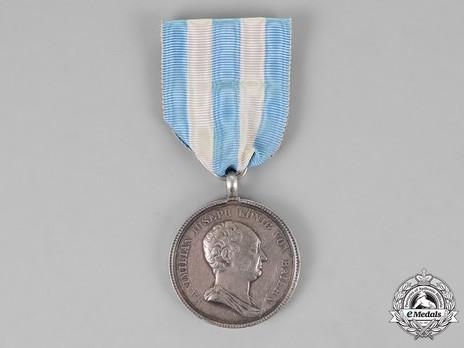 Civil Merit Medal, Type III, Silver Medal Obverse
