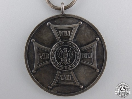 Medal for Merit on the Field of Glory, II Class (1944-1992) Reverse