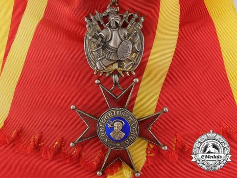 Order of St. Gregory the Great, Grand Cross, Military Division Obverse