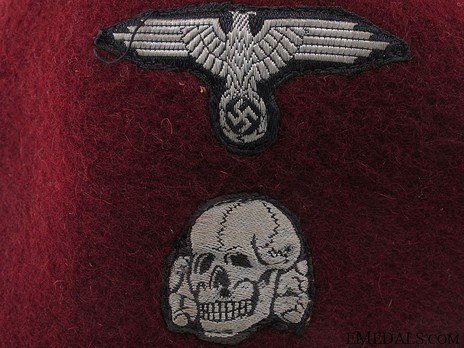 Waffen-SS Dress Fez Detail