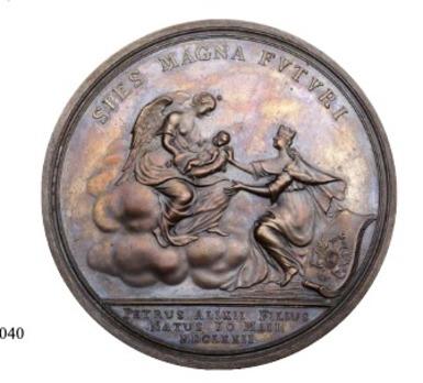 Bronze Table Medal Reverse