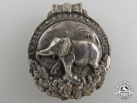 Colonial Badge (in silvered tombac) Obverse