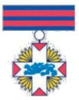 Rescue Service Cross, Large, in Gold Obverse
