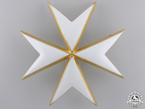 Knight/Dame of Justice Breast Star (with silver-gilt) Obverse