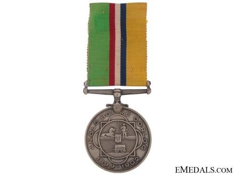 Anglo-Boere Oorlog Medal Obverse