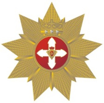 Order of Vytautas the Great, Special Collar Breast Star Obverse