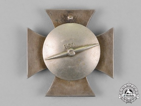Iron Cross I Class, by R. Souval (L 58, screwback, magnetic) Reverse