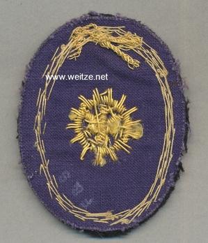 Kriegsmarine Cadet Engineer Insignia Reverse