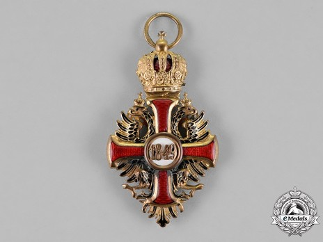 Order of Franz Joseph, Type II, Knight Cross Reverse