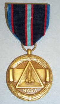 NASA Space Flight Medal Obverse