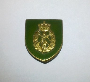 Home Guard Long Service Decorations, Bronze Badge (for 10 years) Obverse